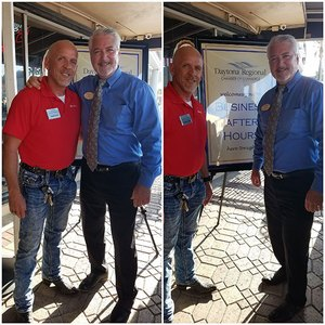 Partner Ray Schumann Attends Daytona Chamber Business After Hours