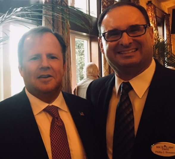 Partners Philip Bonamo and Ray Schumann Attend Judge Chris Kelly Re-Election Reception