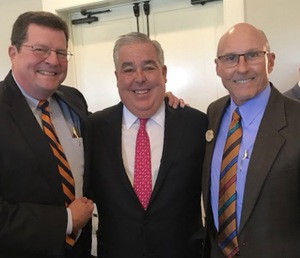 Paul Rice and Jim Rose Reunite with Old Friend, John Morgan