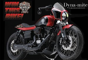 A Chance to Win the 2018 Official Bike Week Motorcycle