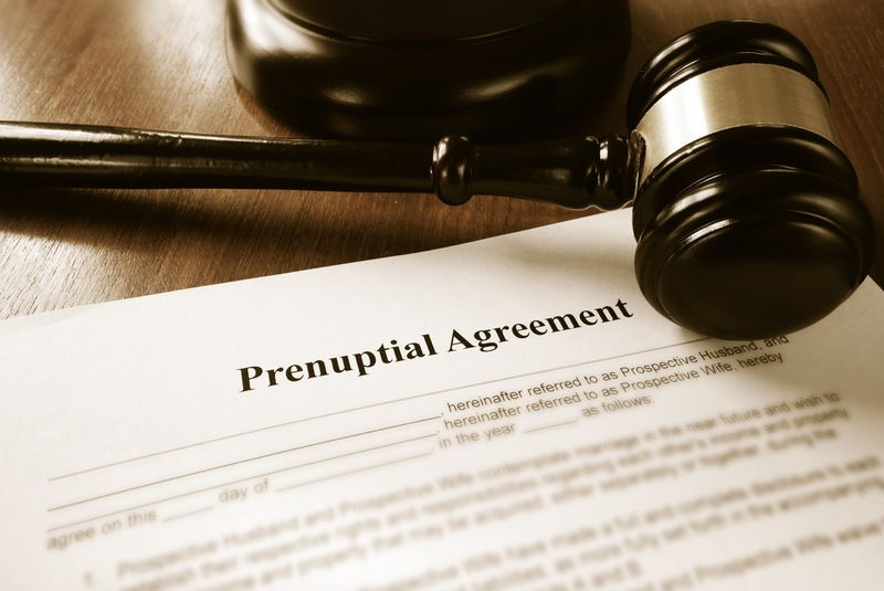The Meaning of the Tiniest Word in a Prenuptial Agreement Costs Wife $1.5 Mill